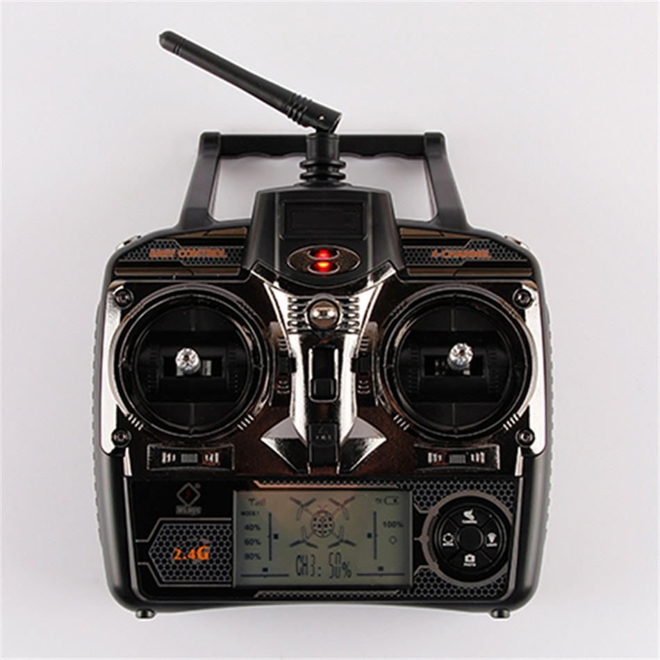 RC Transmitter for Wltoys V666 V666N V977 V915 V222 V913 RC Quadcopter Spare Part 2.4G Remote Controller RC Drone Accessories<br>