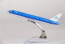 Passenger plane model A330 KLM Royal Dutch Airlines aircraft  A330 Metal simulation airplane model for kids toys Christmas gift