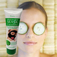 Cheapest New 120ml Cucumber Facial mask Treat Itching Acne Psoriasis Eczema Dermatitis(China)