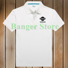 Polo Shirt for women and mens 4S Nissan car Logo Polo Shirt
