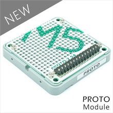 M5Stack Official Stock Offer Proto Module Proto Board with Extension & Bus Socket for Arduino ESP32 Development Kit(China)