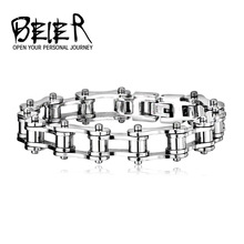 PUNK Biker 316L STAINLESS Steel Mens Bracelet Fashion Jewelry Bike Bicycle Chain Bracelet Jewellery BR-C012