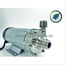 New 15R Magnetic Drive Pump  With Stainless Steel Head,Homebrew Pump with CE Certification ,110V US Plug