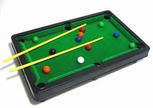Free shipping New Children Mini Billiards Games Plastic Small 6 in 1 Functional Household Billiards Table games for kids
