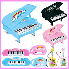 Infant Children Cartoon Small Piano Keyboard Electronic Piano Educational Toys Musical Instrument Chinese Girl Toddler Toys