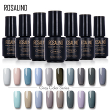 ROSALIND 7ML Gel Varnish Lak Gel Nail Polish Nail Gel Polish Series UV LED Soak-off Acrylic Nail Art Set Gel-lacquer(China)
