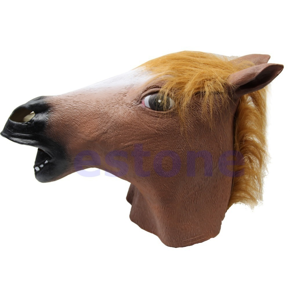 Popular Horse Mask Latex-Buy Cheap Horse Mask Latex lots from ...