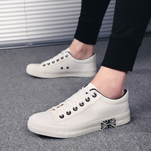 Antidazzle Customize Popular Han edition white shoe canvas shoes  Absorption Breathable Men's Walking Canvas shoes Sport