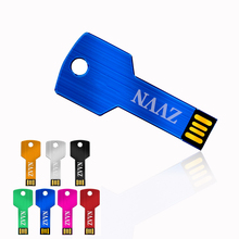 Pendrive 128GB Colorful Key Waterproof mini key model 4GB 8GB 16GB 32GB 64GB USB Flash Drive Stick Flash Pen Drive U disk
