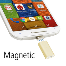 Magnetic Micro USB Adapter For Android Moto G X Nexus Cable, Charger Charging For Samsung HTC Sony One Plus Cable