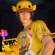 Final Fantasy XV Noctis Lucis Caelum Cosplay Carnival T-shirt&Hat FF15 Moogle Chocobo Cap tshirt Costume Accessories