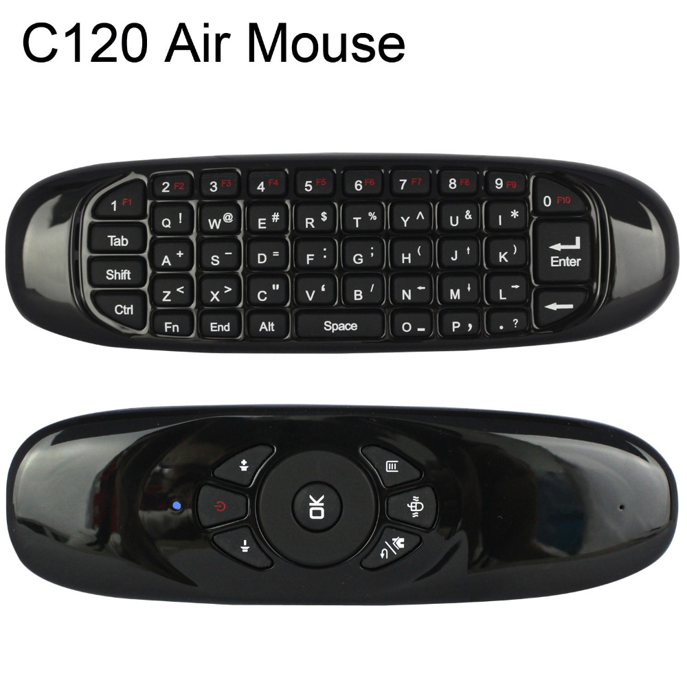 2.4GHz Air Mouse T10 Rechargeable Wireless keyboard Fly air Mouse for Android TV Box X96 Z4 VR Samsung/LG /Toshiba smart TV(China (Mainland))