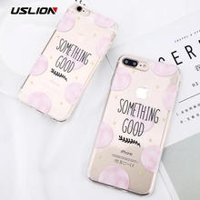 Buy USLION Ultrathin Soft Silicon Cover Case iPhone 8 7 6 6S Plus Cute Love Heart Wave Point Phone Cases Capa iPhone 8 Plus for $1.61 in AliExpress store
