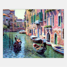 Frameless Picture Painting By Numbers DIY Canvas Oil Painting DIY Digital Oil Painting Home Decor For Liing Rom G086