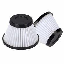 2pcs/lot High quality hand held vacuum cleaner hepa filter strainer filter element for Philips FC6161 cleaner parts accessories(China)