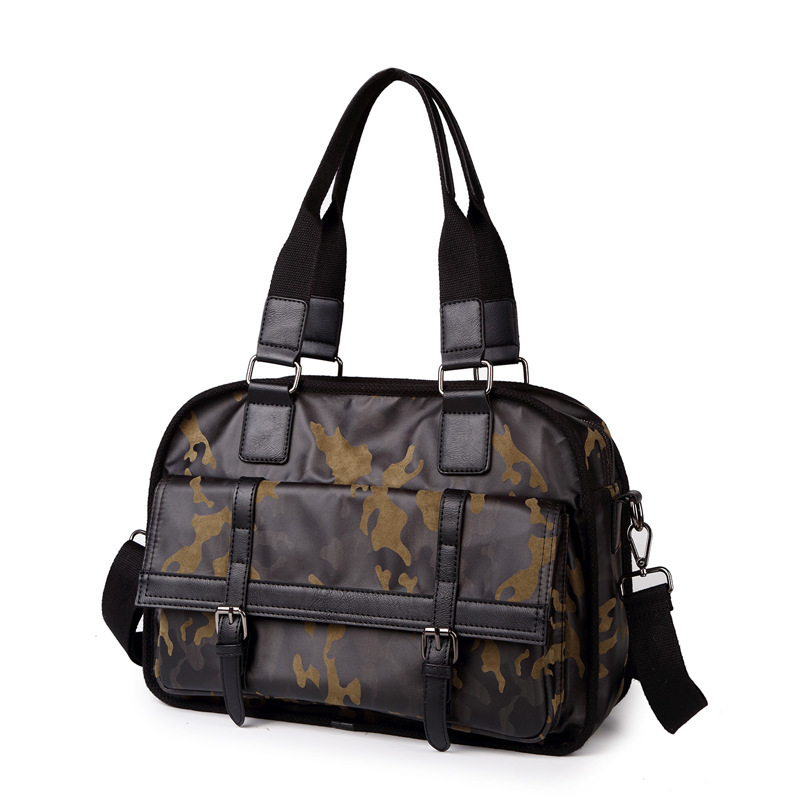 2017 new camouflage style mens handbag,large capacity stylish Messenger shoulder bag, travel bag<br>