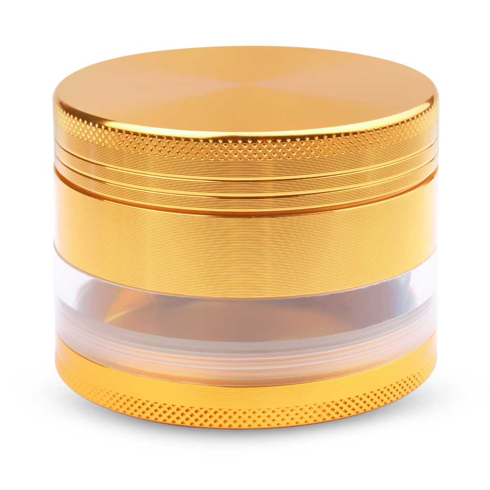 new type herb tobacco weed grinder hookah smoking gold color zinc alloy narguile Shisha smoke pipe hand muller diameter 60mm(China (Mainland))