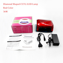 Belle Fille UV LED Lamp Diamond Shaped UV Gel Fast Curing Nail Lamp Machine Energy saving Light Tools Nail Gel Polish Dryer