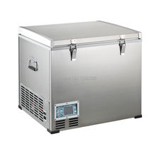 Refrigerator with compressor & portable fridge  & dc 12v or 24v  & icebox 60L