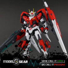MC Metal Gear Seven Swords / G 7S 1/100 Metal build MB 00 Inspection Red Colour(China)
