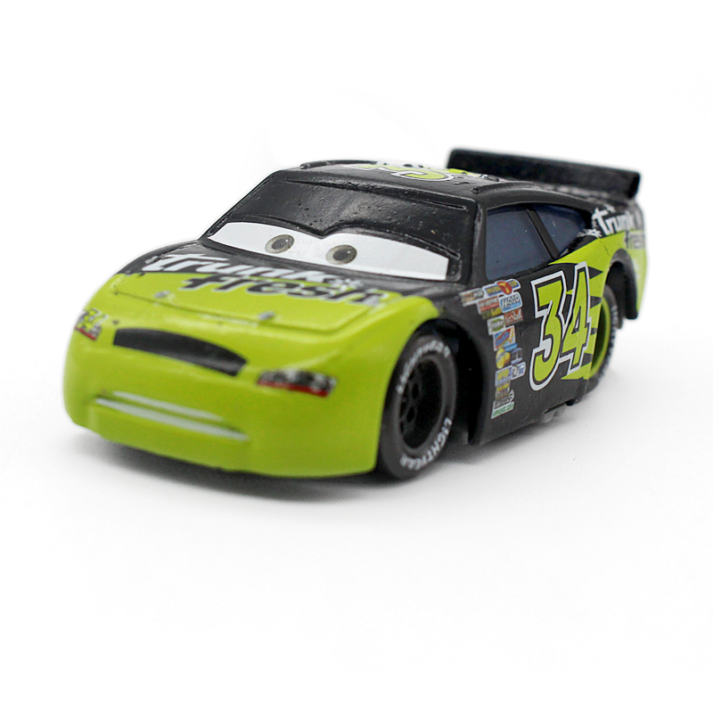 No.34 Pixar Cars Diecast Metal Cola Car Children Toys 1:55 Loose Brand New In Stock Lightning McQuee(China)