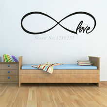 DCTOP Love Wall Decals Vinyl Removable Bedroom design Decoration DIY Wall Stickers home Decor