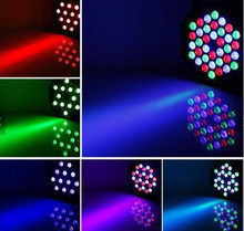 8pcs 36 RGB LED Par Can Stage Light Disco DJ Bar Effect UP Lighting Sh dmx led par Club Party light Strobe  Fast Shipping