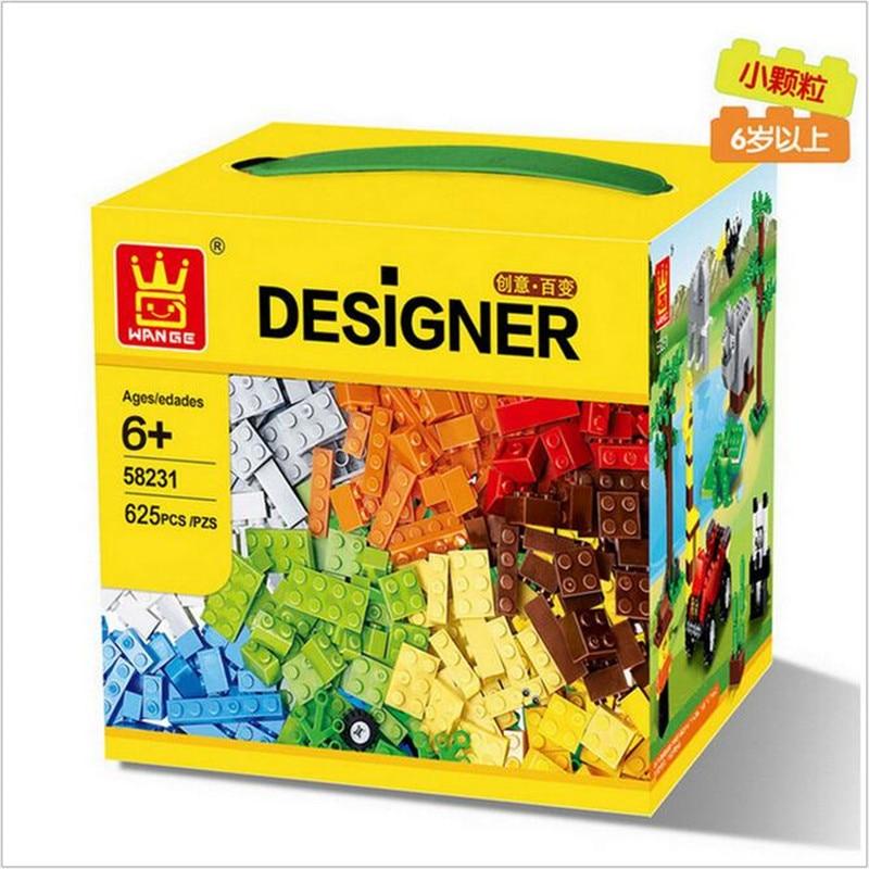 625 Pcs Building Blocks City DIY Creative Bricks Toys For Child Educational Wange Building Block Bricks<br><br>Aliexpress