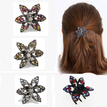 Buy 1pc Rhinestone Hairpin Brides Clip Crystal Star Hair Claw Bridal Jewelry Charming Hair Accessories 251-4 for $1.17 in AliExpress store