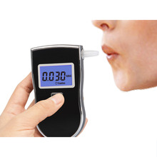 AT-6000 Blowing Type Digital Lcd Screen Dedicated Alcohol Tester / Detector Portable Mini Breath Alcohol Tester Breathalyzer