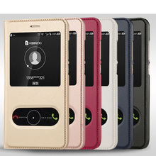 Buy Huawei P9 Lite 2017 Case Luxury View Window Flip PU Leather Cover Huawei P8 Lite 2017 Huawei Honor 8 Lite Cases for $3.39 in AliExpress store