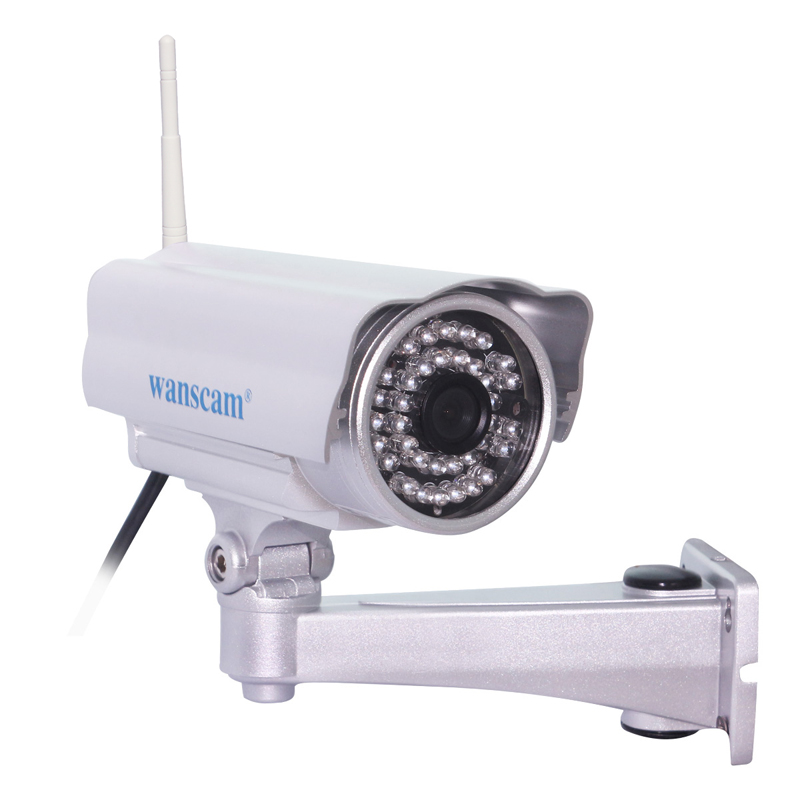 Wanscam 720P Wireless Wifi IP Camera Outdoor Waterproof Security HD CCTV Camera 36 Leds IR 20m Network Bullet Camera Onvif P2P<br><br>Aliexpress