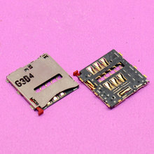 YuXi 1pcs Sim Card socket tray slot module for Sony Xperia Z2 L50 L50w D6503 D6502 D6543 sim card reader holder adapters.(China)