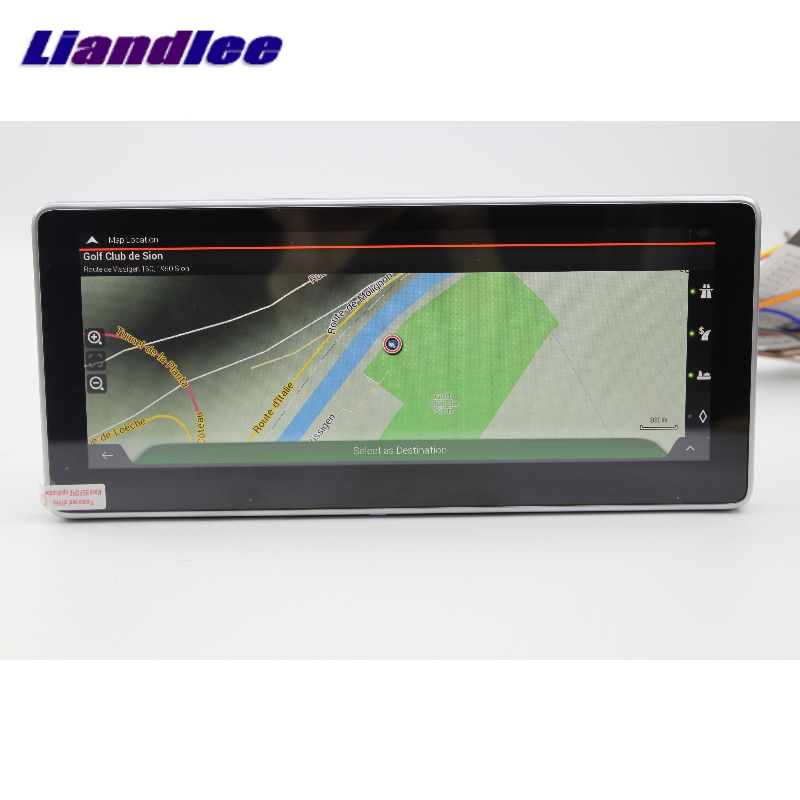 Liandlee Car Multimedia Player NAVI For Mercedes-Benz MB GLC Class X253 C253 2015~2018 Car Radio Stereo GPS Navigation 4