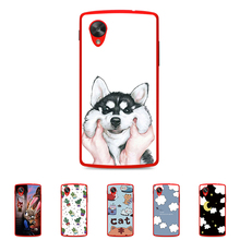 Buy LG Google Nexus 5 4.95 inch Solf TPU Silicone Case Mobile Phone Cover Bag Cellphone Housing Shell Skin Mask DIY Customize for $1.34 in AliExpress store