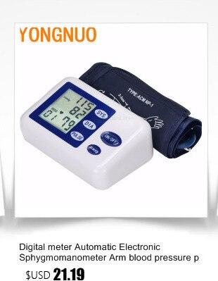 Digital Upper Arm Blood Pressure Pulse Monitor Household tonometer Portable Health Care Meter Sphygmomanometer medical equipment 18