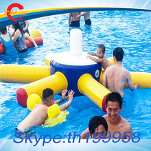 6pcs toys/set,inflatable floating water toys in giant large  inflatables  pools,water sports games,water parks