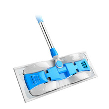 Hand Washing Flat Mop Hard Floor Cleaning Magic Househeld Tools Easy Microfiber Non-electric Bathroom Essential Home Supply Tool(China)
