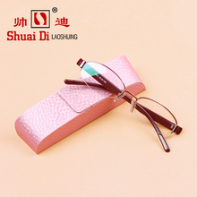 Di brand high-grade imported presbyopic glasses and TR90 resin ultra light anti fatigue fashion presbyopic glasses(China)