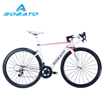 Carbon Road Bike Complete Toray Carbon Fiber Bike Road Bicycle 11S 700C Tire Carbon Frame Wheelset Road Bicycle Bike Complete