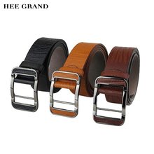 HEE GRAND Men's Belt Classic Stylish Men's leather Belts Fashion Belt High Quality Wholesales PYP008