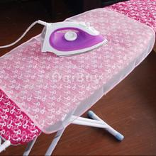 New Hot Sale 40 x 90 cm Household Mesh Folding Ironing Protection Cloth Cover Kit Home Using Ironing Boards White Free Shipping(China)
