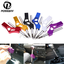 Universal Aluminum Black/Red/Blue/Gold/Silver/Purple Car Auto SUV Short Shifter Extension Gear Knob Extender Shift Lever Knobs