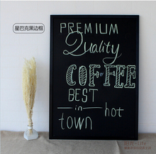 Free accessory double sides magnetic blackboard dry wipe board office supplier 40*60cm factory direct sell home decorative