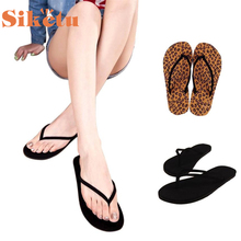 siketu Best Gift New Fashion women shoes  Summer Flip Flops Shoes Sandals Slipper indoor & outdoor slippers  bea6624