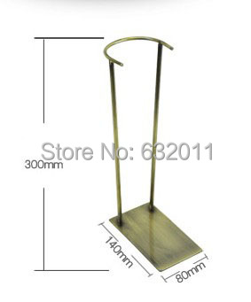 Antique copper iron metal boots showing display stand High boots shoes holder display stand shoe holder keeper rack<br><br>Aliexpress