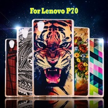 Printed Phone Cases for Lenovo P70 Shell Soft Silicone TPU Cellphone Covers For Lenovo P70 P70A P70-A P70T P 70 Housing Shield