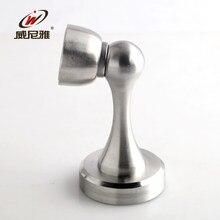 stainless steel door stopper top gear touched the bathroom wall interior bedroom magnetic door door dualuse