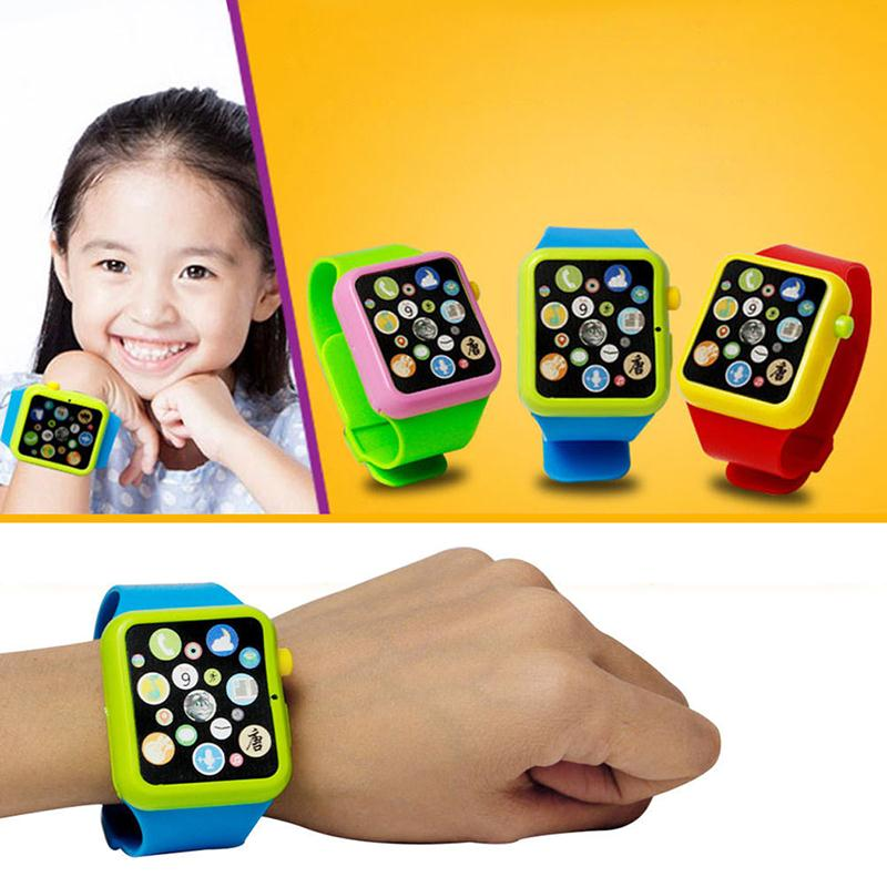 Education Smart Toy Watch Musical Learning Machine 3D Touch Screen Wristwatch Toy Electric Music Toys For Kids(China (Mainland))