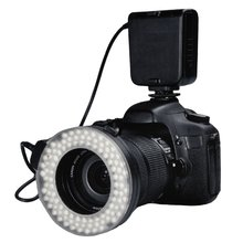 HC-122 Macro LED Ring Flash Light For Canon Digital EOS Rebel DSLR for 100D 700D 650D 1100D 600D 500D 550D 450D 1000D 400D 350D